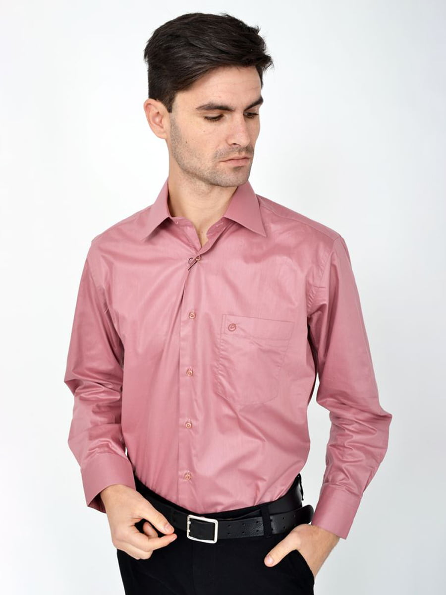 Рубашка сиреневая | 5306347