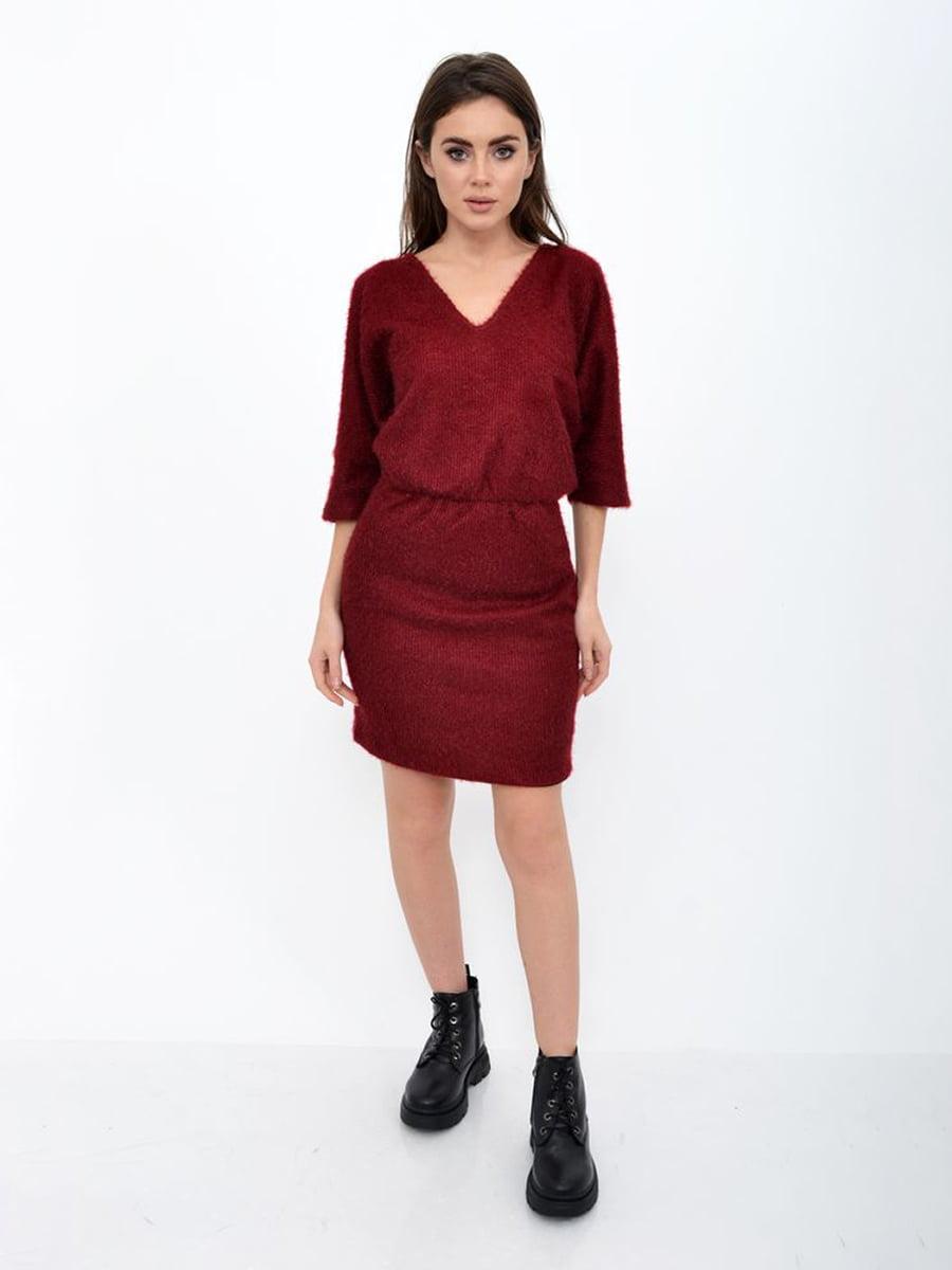 Платье бордовое | 5306395
