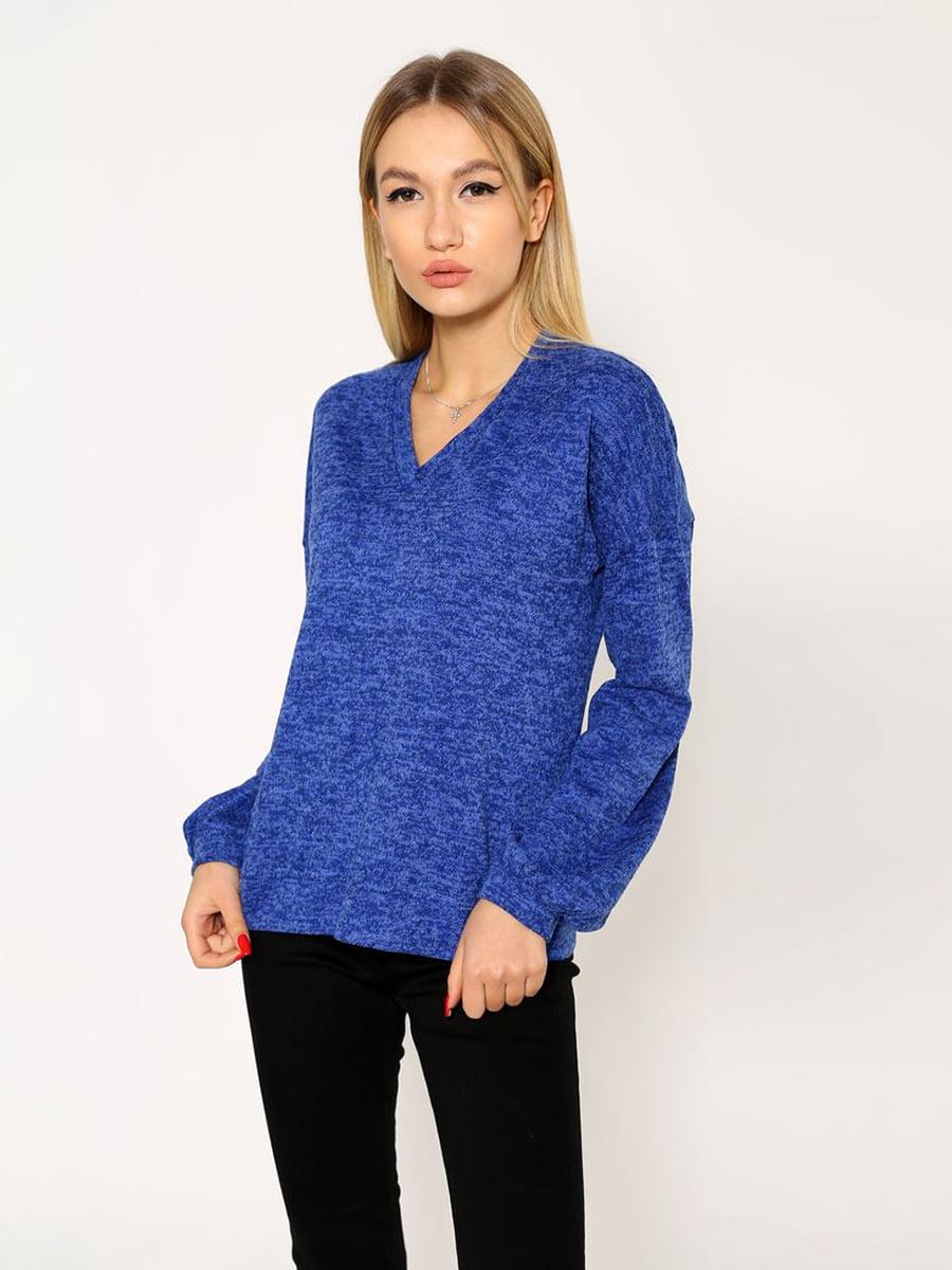 Пуловер синий | 5337722