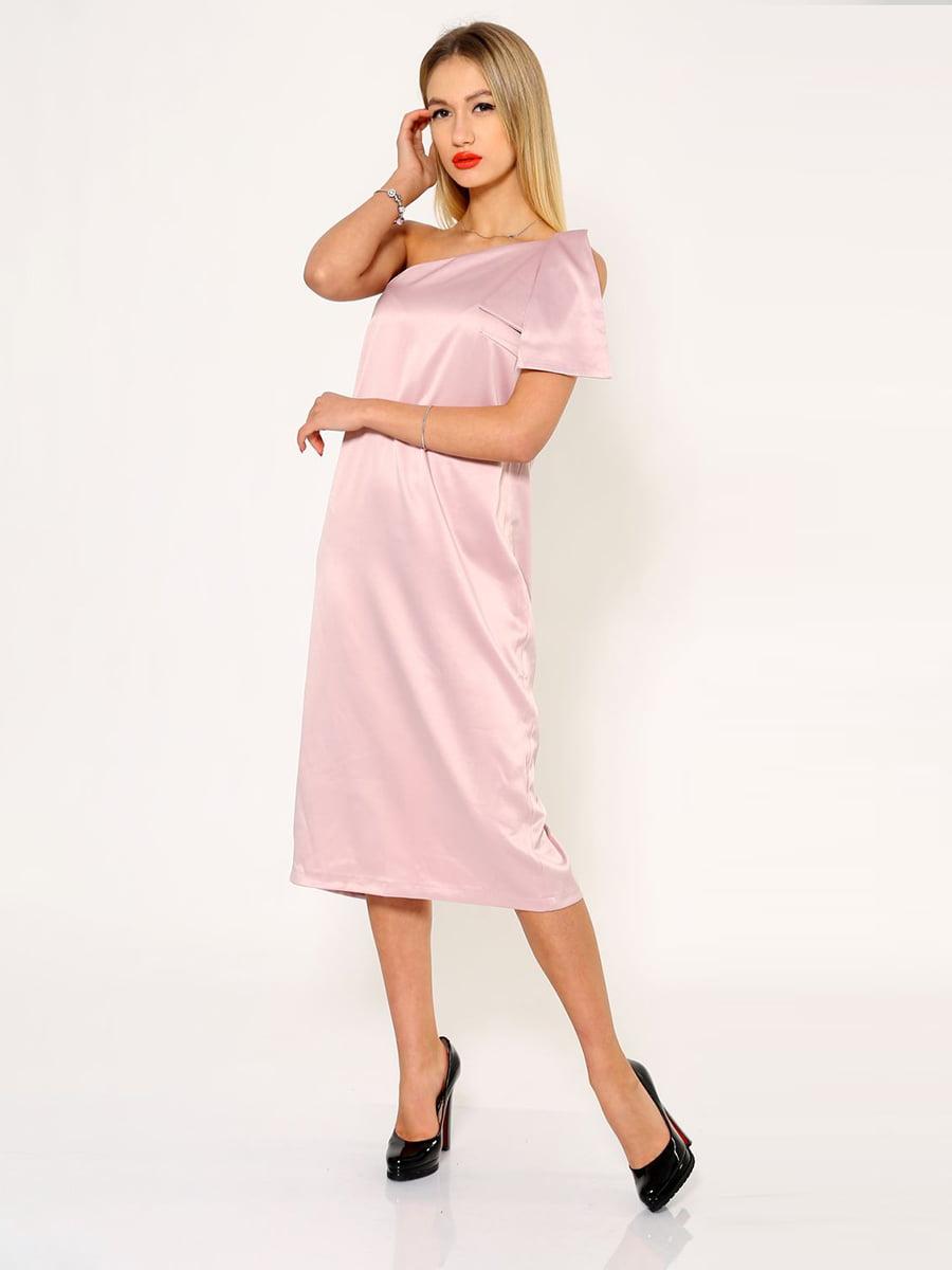 Платье розовое | 5337781