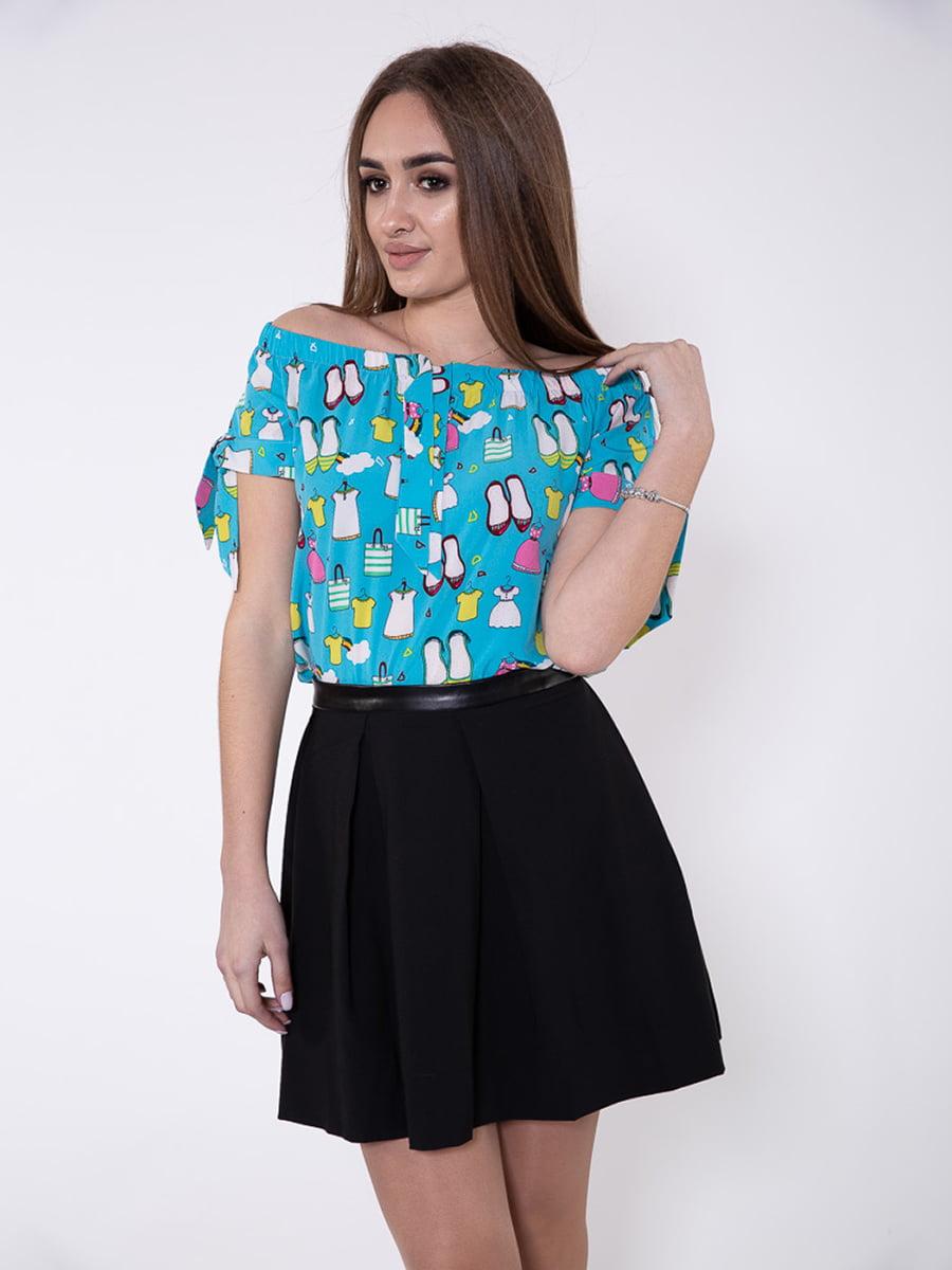 Блуза голубая | 5349020