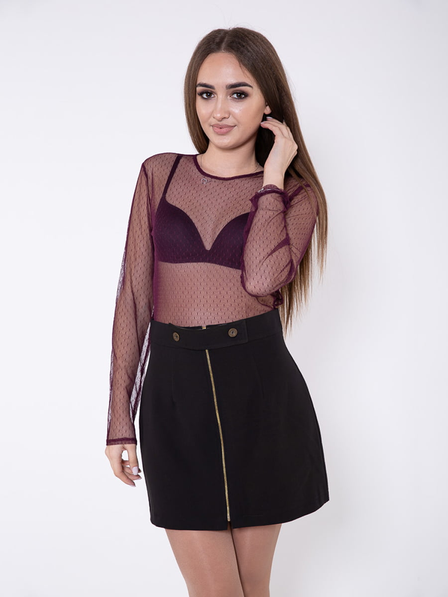 Блуза цвета марсала   5349078