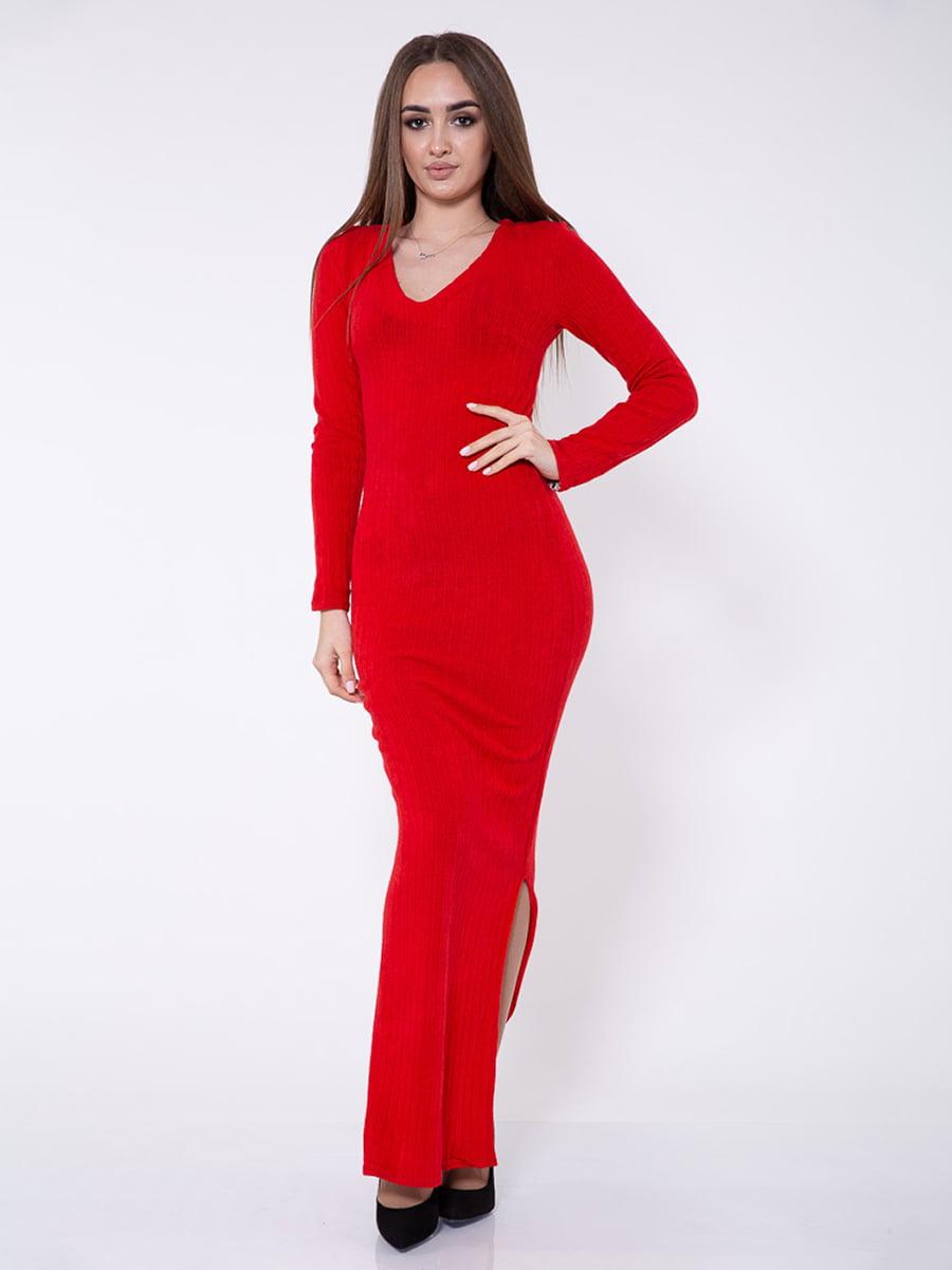 Платье красное   5349108