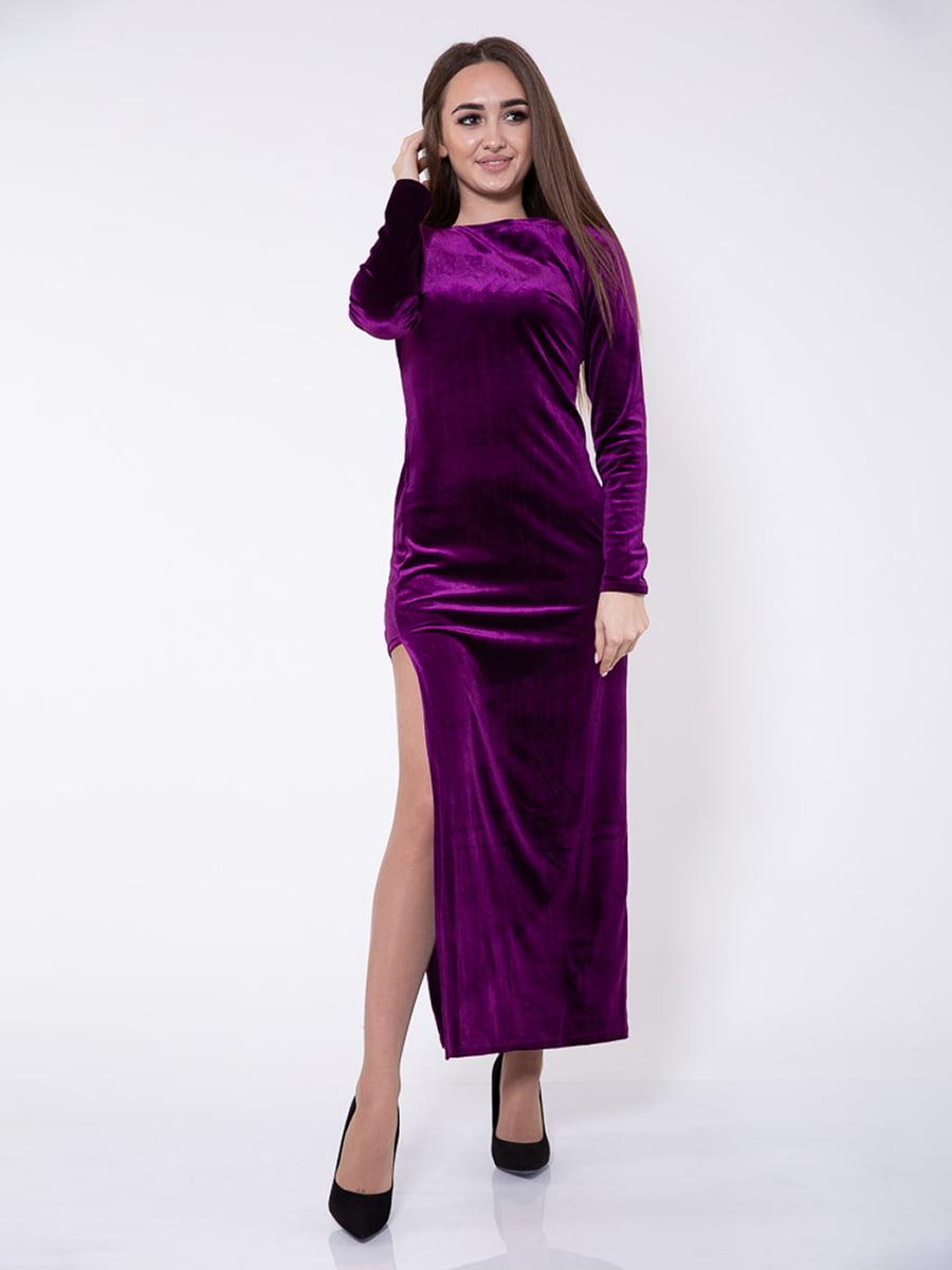 Платье цвета фуксии | 5349111