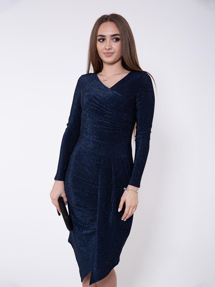 Платье синее | 5349124