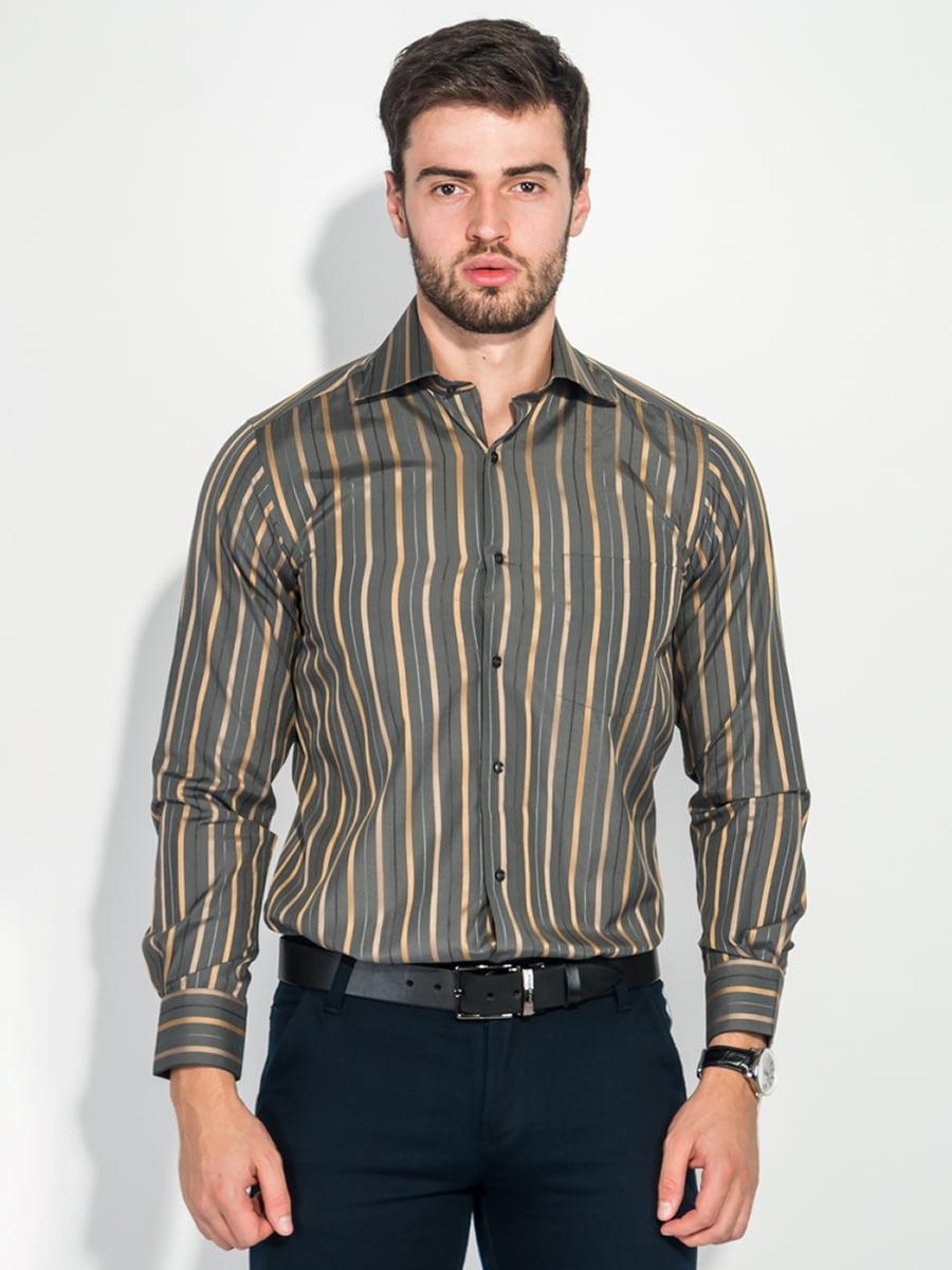 Рубашка цвета хаки | 5349171
