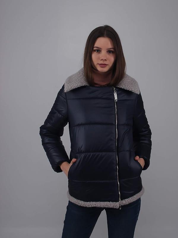 Куртка темно-синяя | 5349527