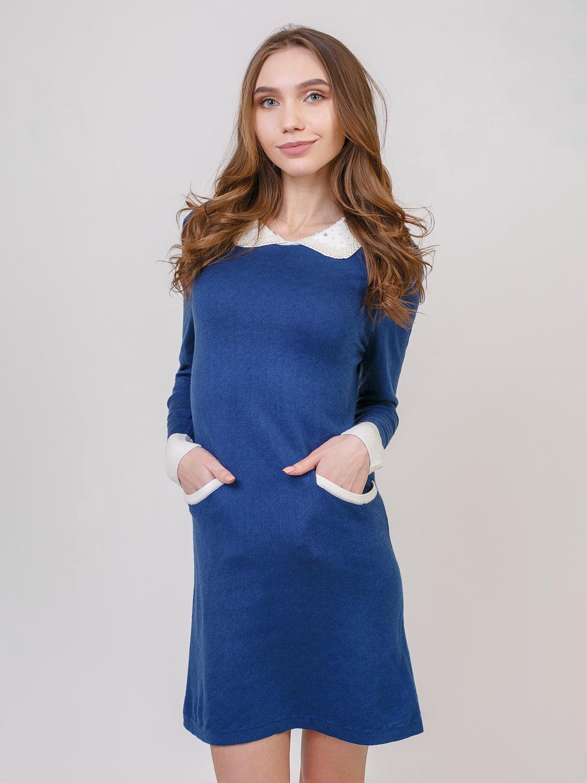 Сукня джинсового цвета | 5346540