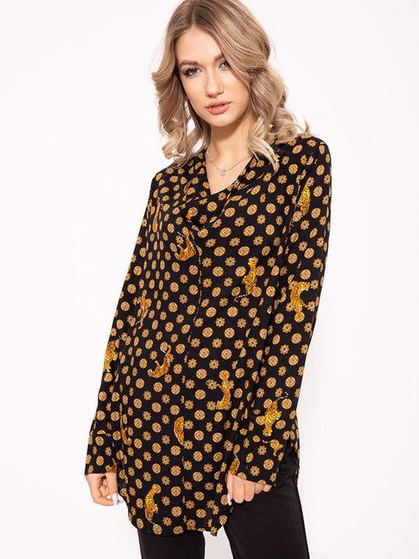Блуза черная | 5350970