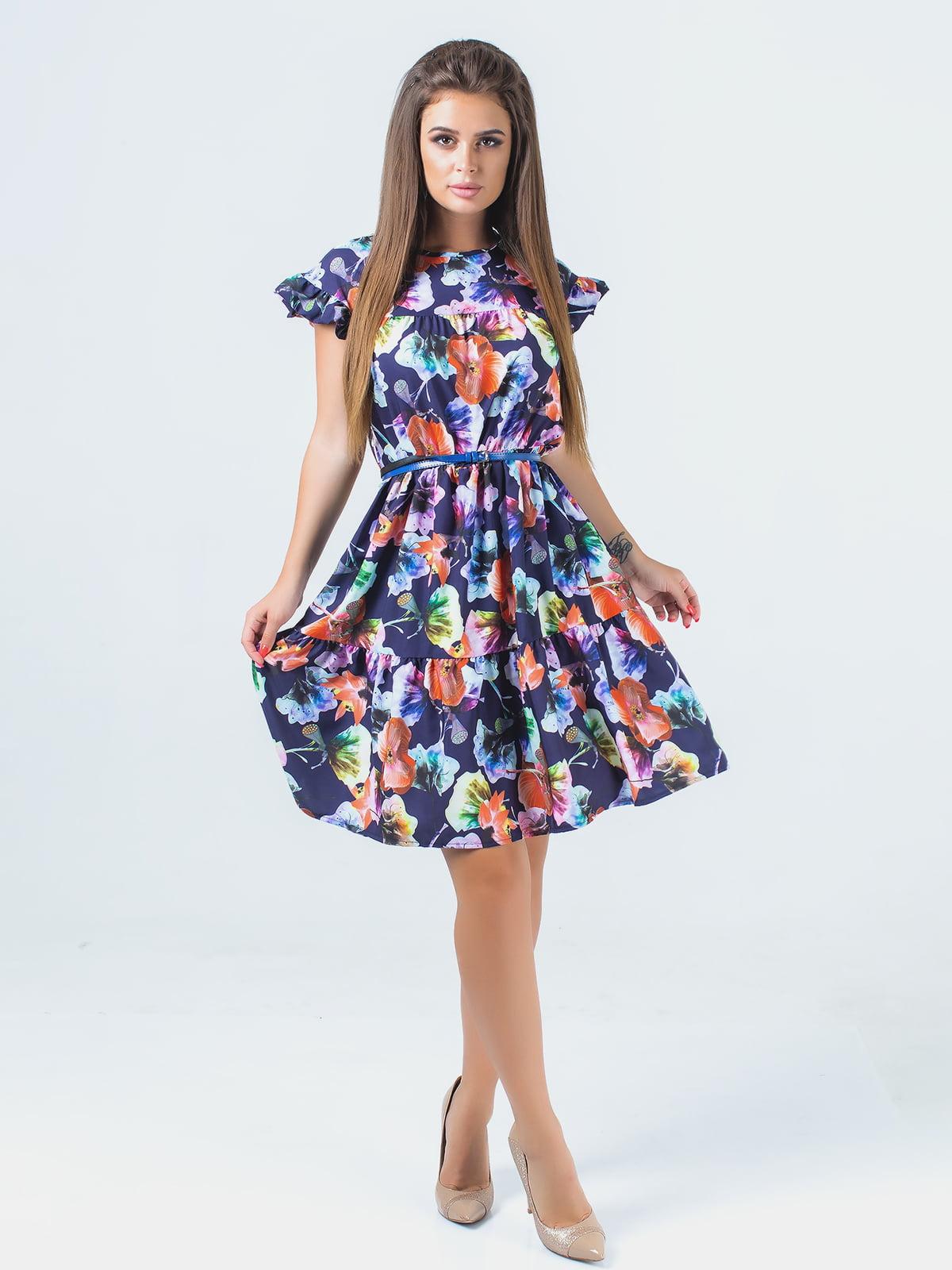 Платье синее | 5352334