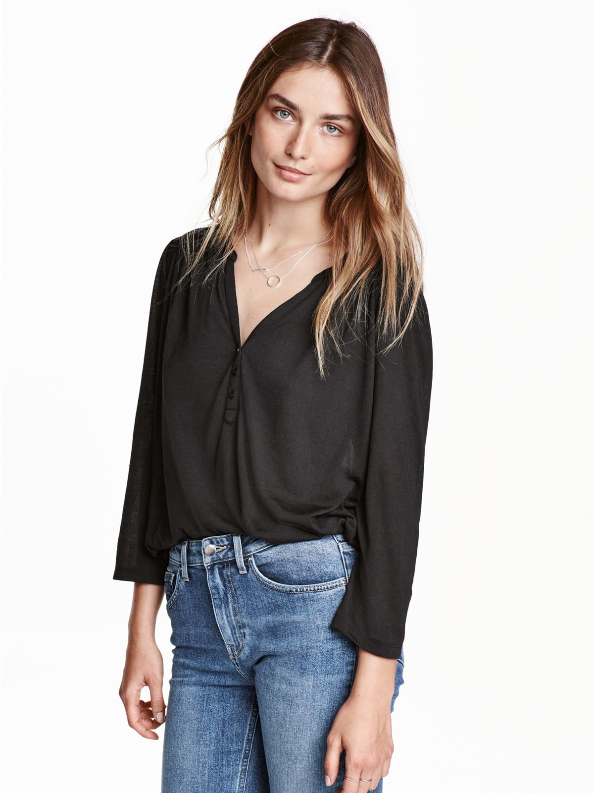 Блуза черная | 5352798