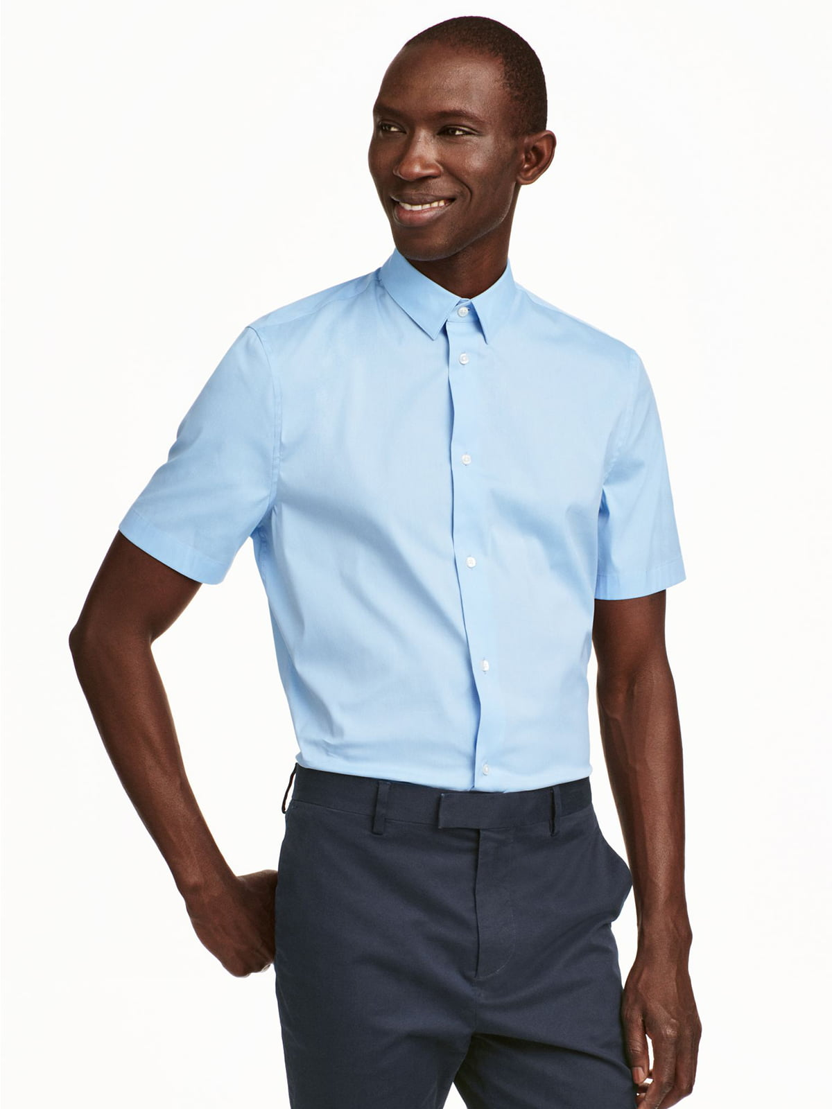 Рубашка голубая   5352819