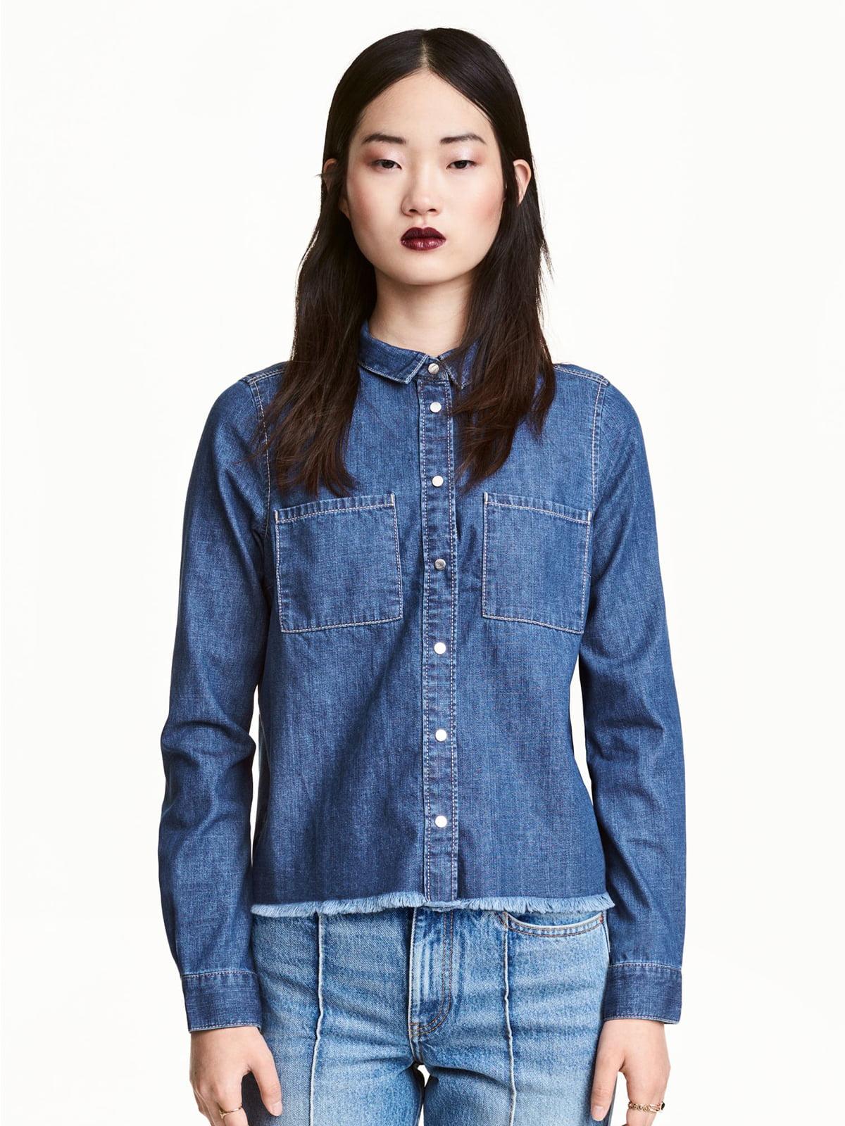 Рубашка синяя | 5352902