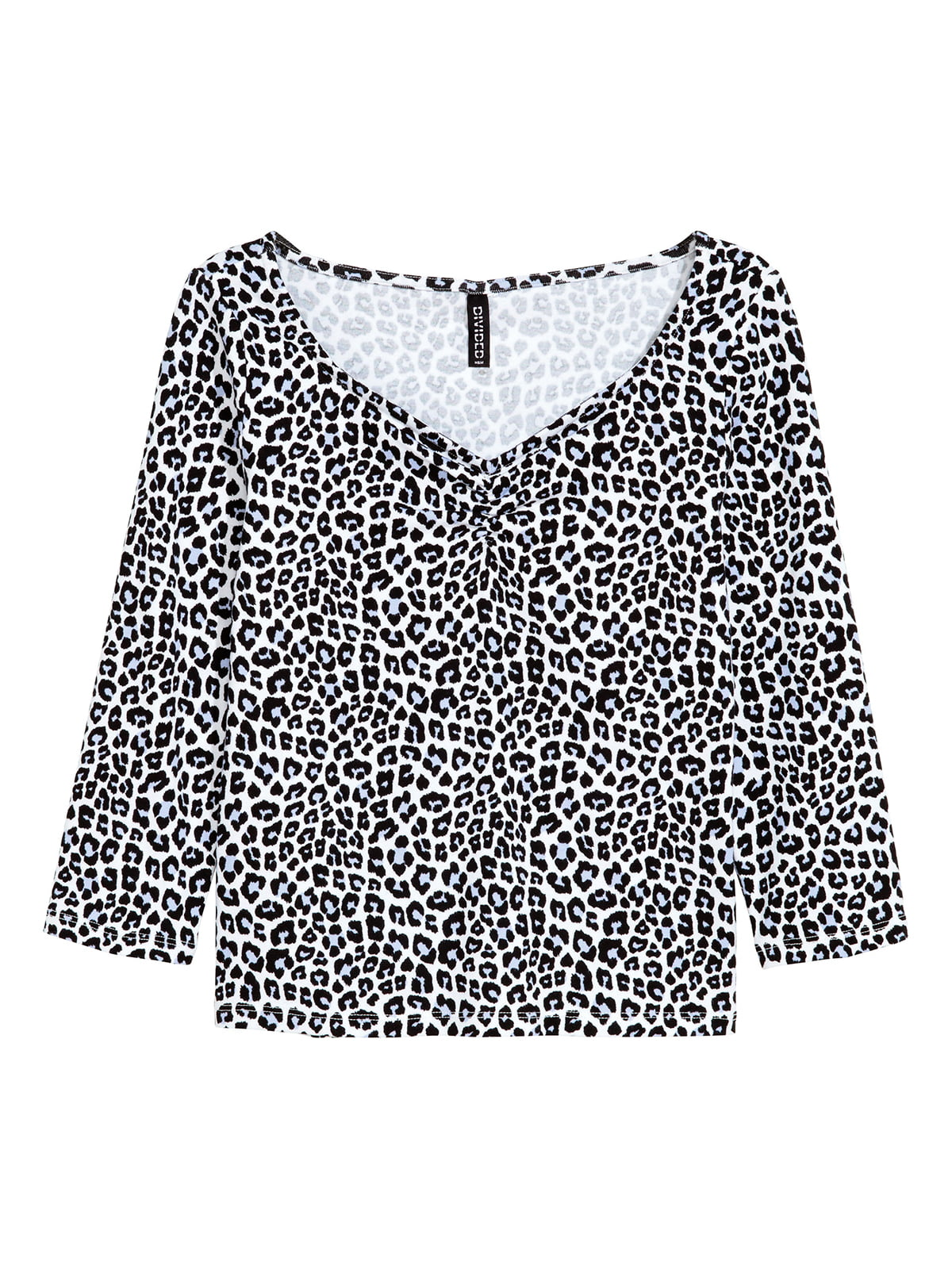 Блуза чорно-біла   5352909