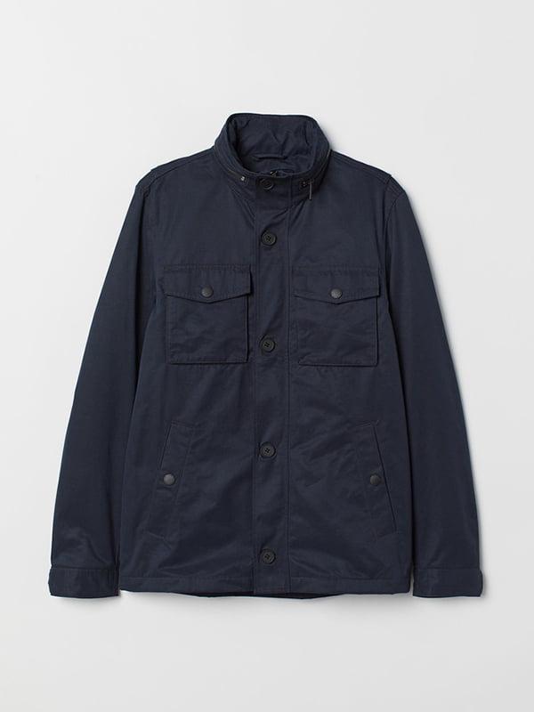 Куртка синя | 5353140