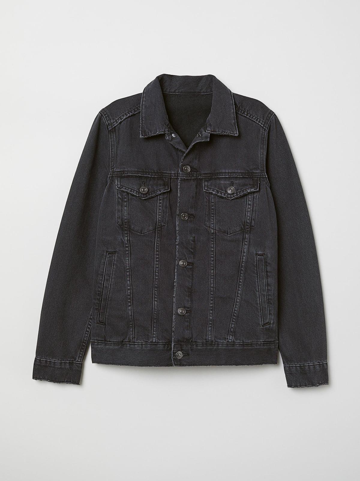 Куртка джинсова сіра   5353164