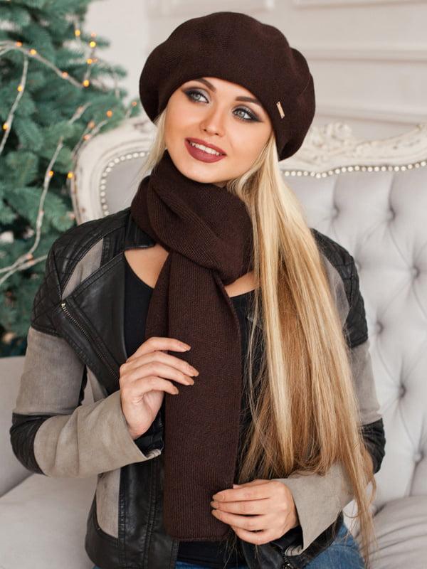 Комплект: берет и шарф   5354402