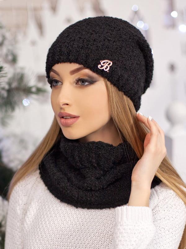 Комплект: шапка и шарф-хомут | 5354439