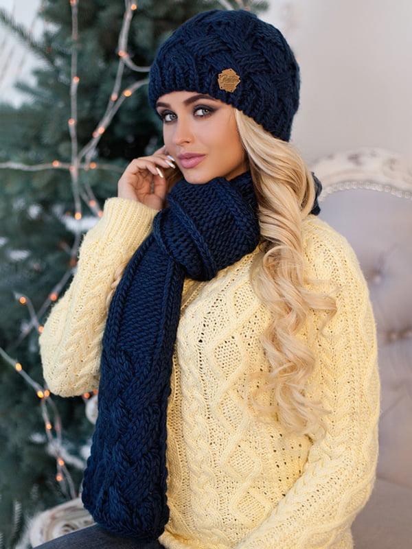 Комплект: шапка и шарф | 5354556
