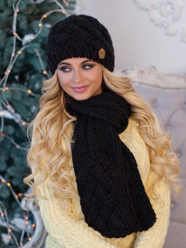 Комплект: шапка и шарф | 5354561