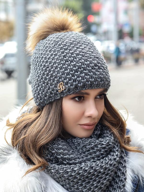 Комплект: шапка и шарф-снуд   5354704