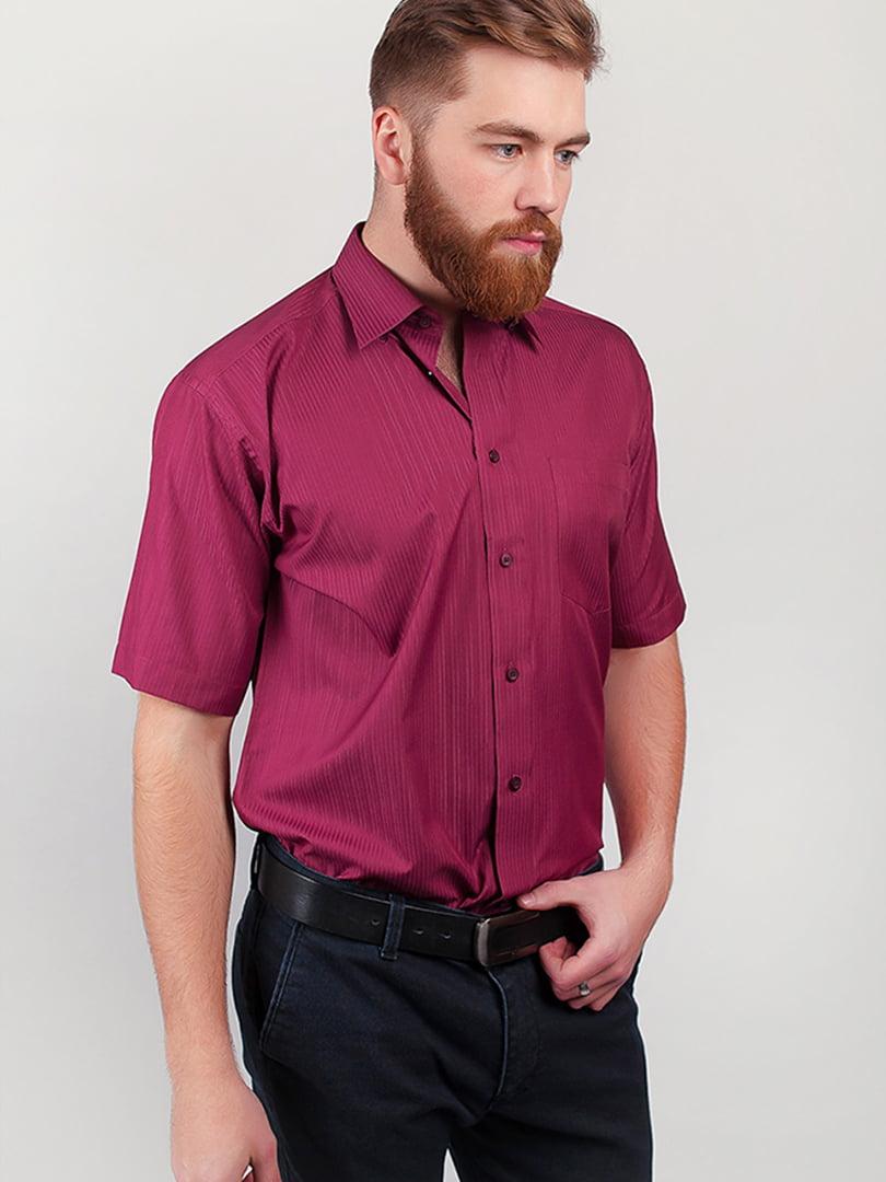 Рубашка бордовая | 5356478
