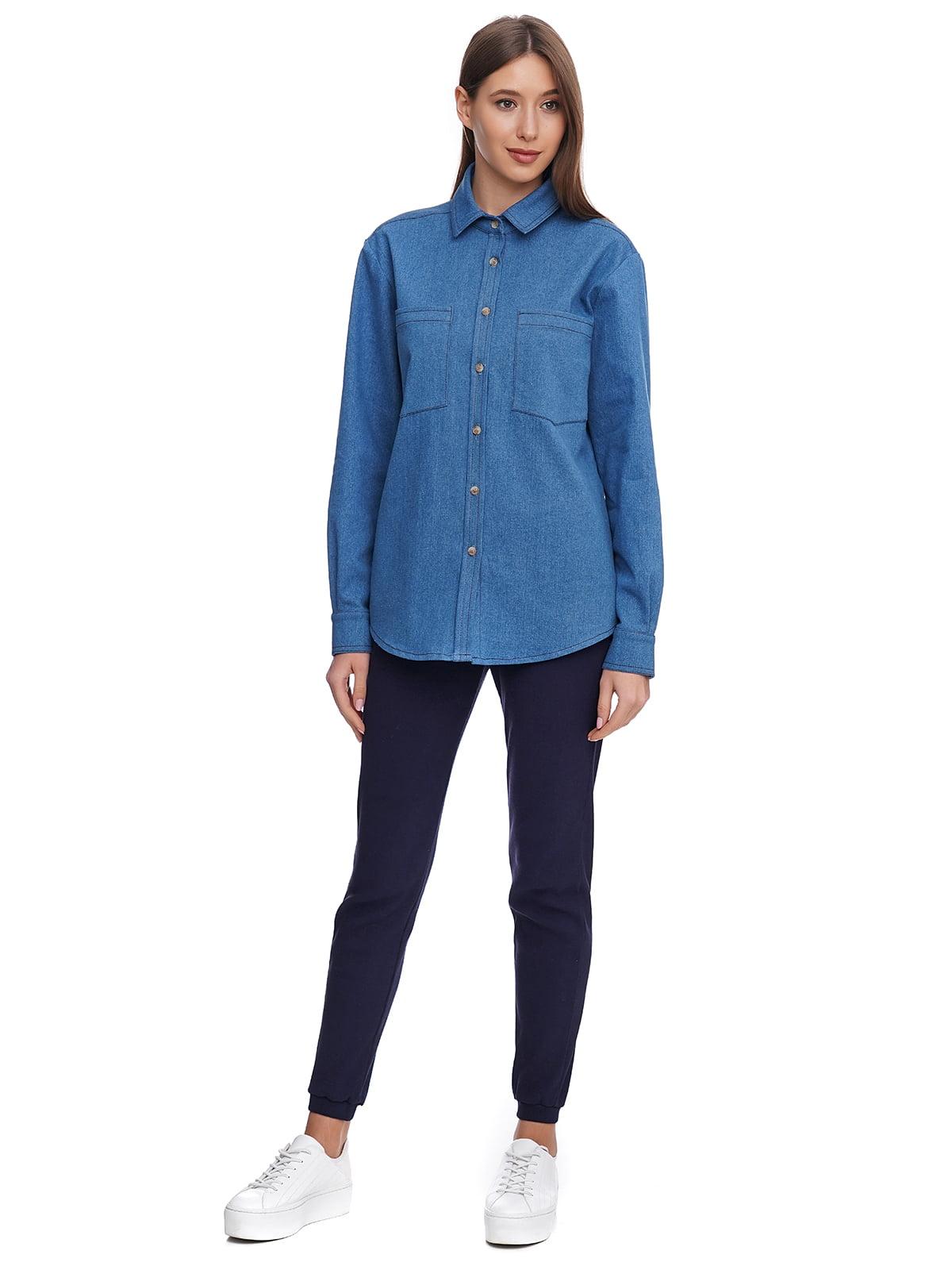 Рубашка синяя | 5340143