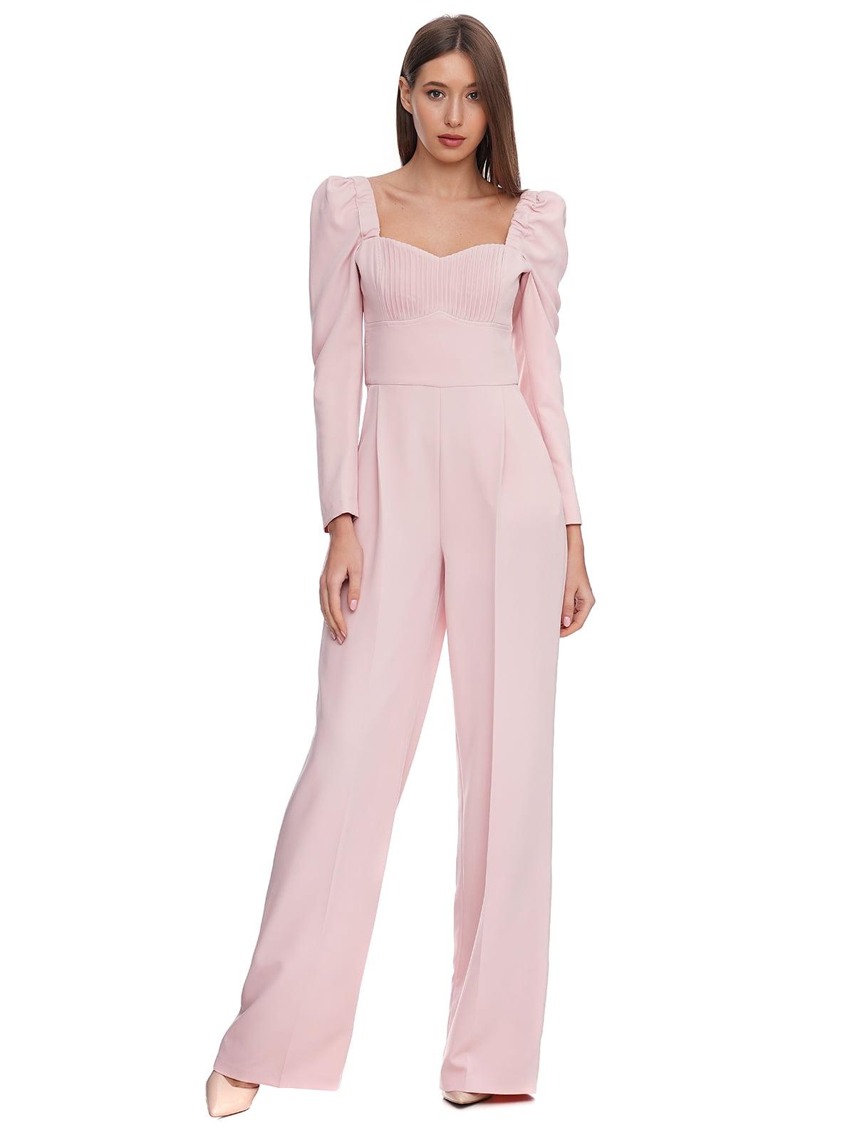 Комбинезон розовый | 5340152