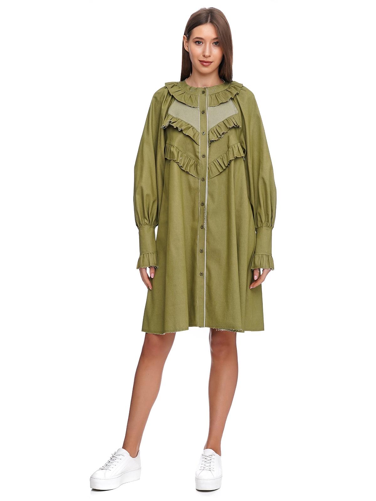 Платье зеленое | 5340157