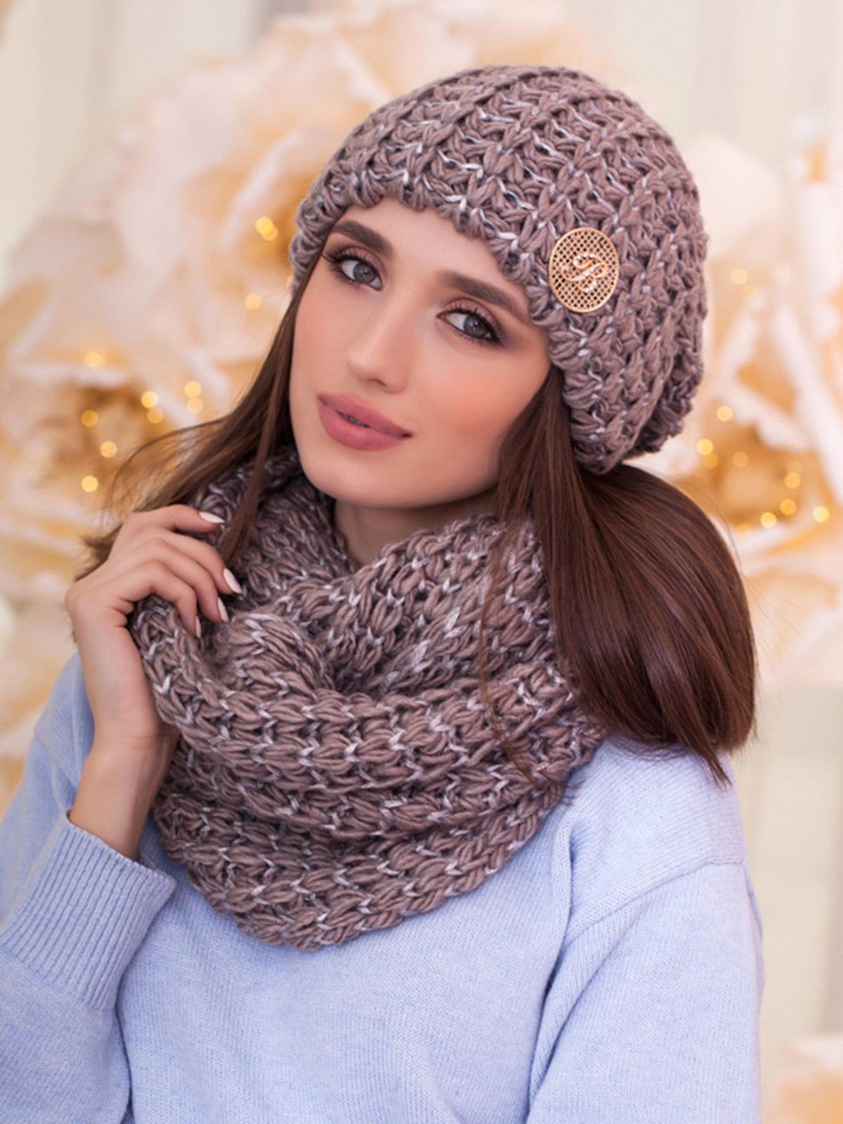 Комплект: шапка и шарф-снуд | 5354570