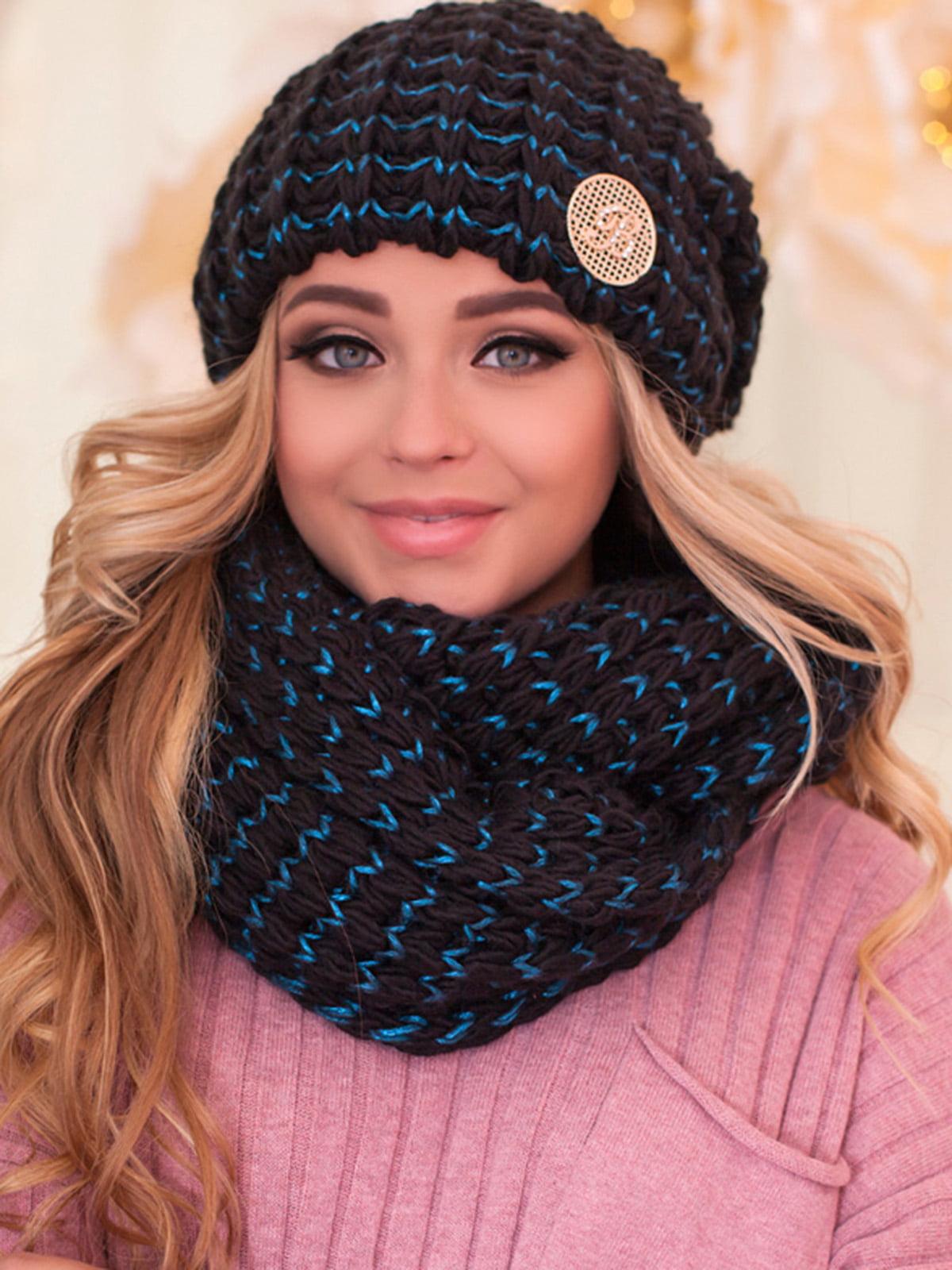Комплект: шапка и шарф-снуд | 5354571