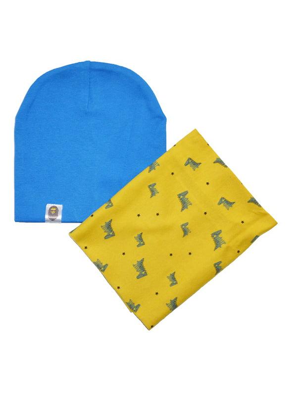 Комплект: шапка и шарф-снуд | 5358894