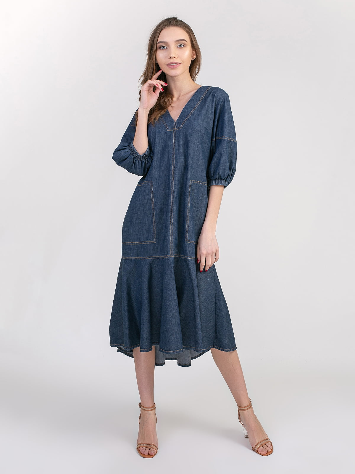 Сукня синя | 5347372