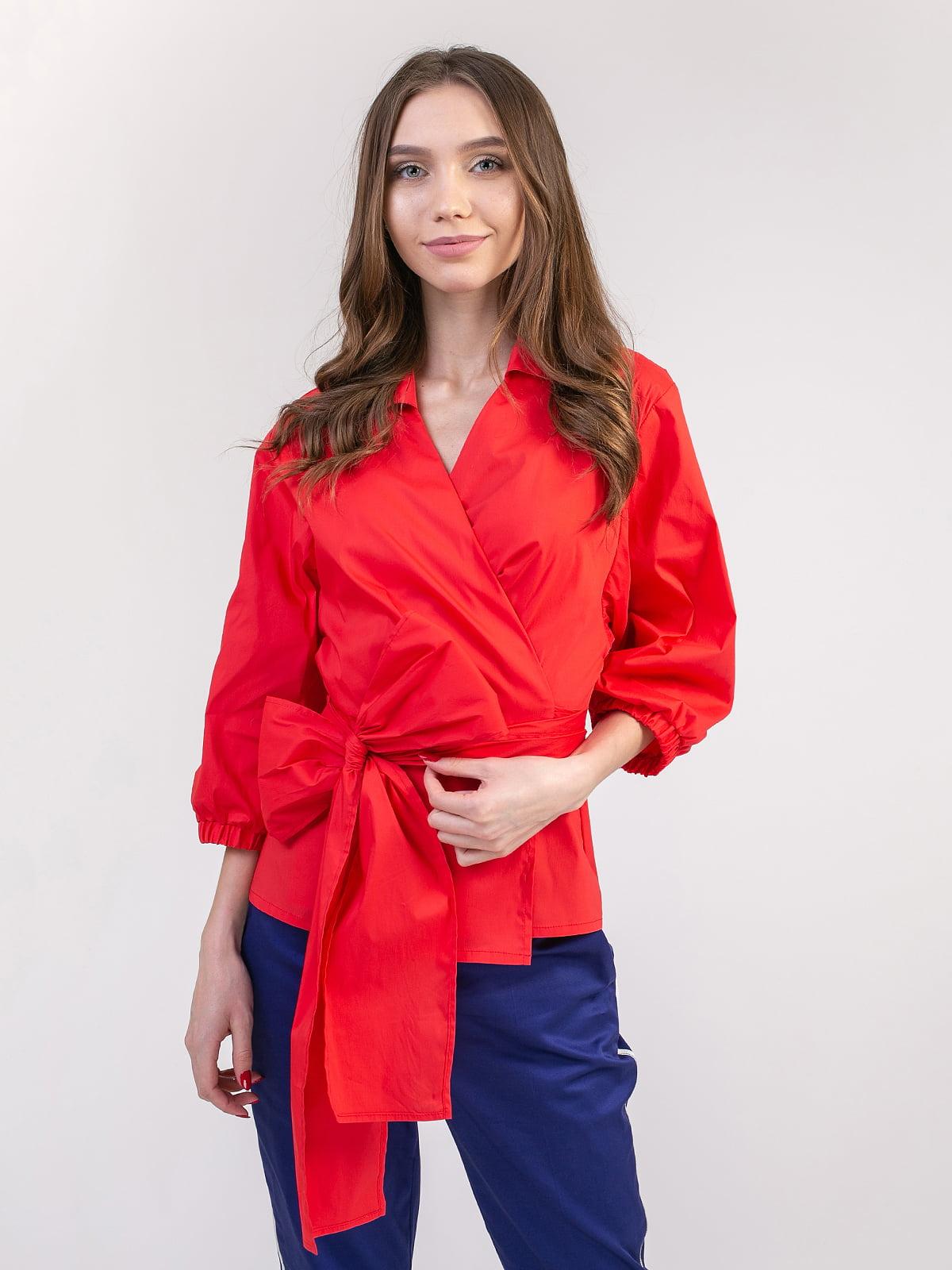 Блуза червона   5352060