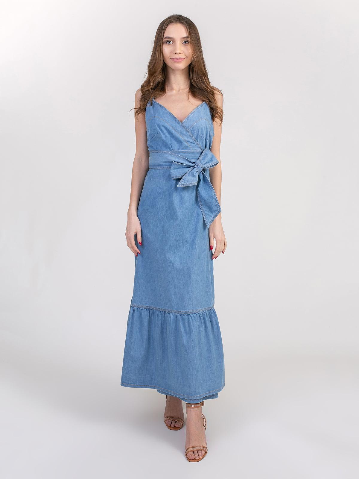 Сукня блакитна | 5347339