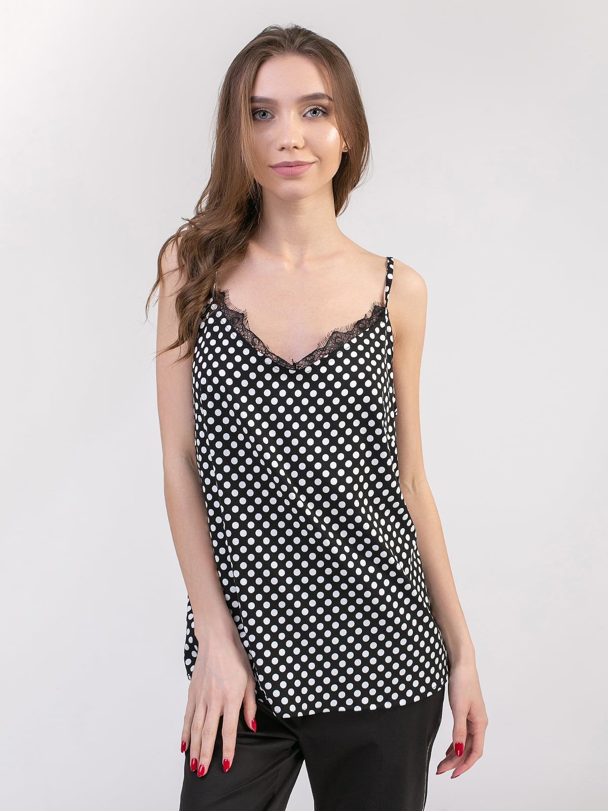Блуза чорно-біла | 5357161