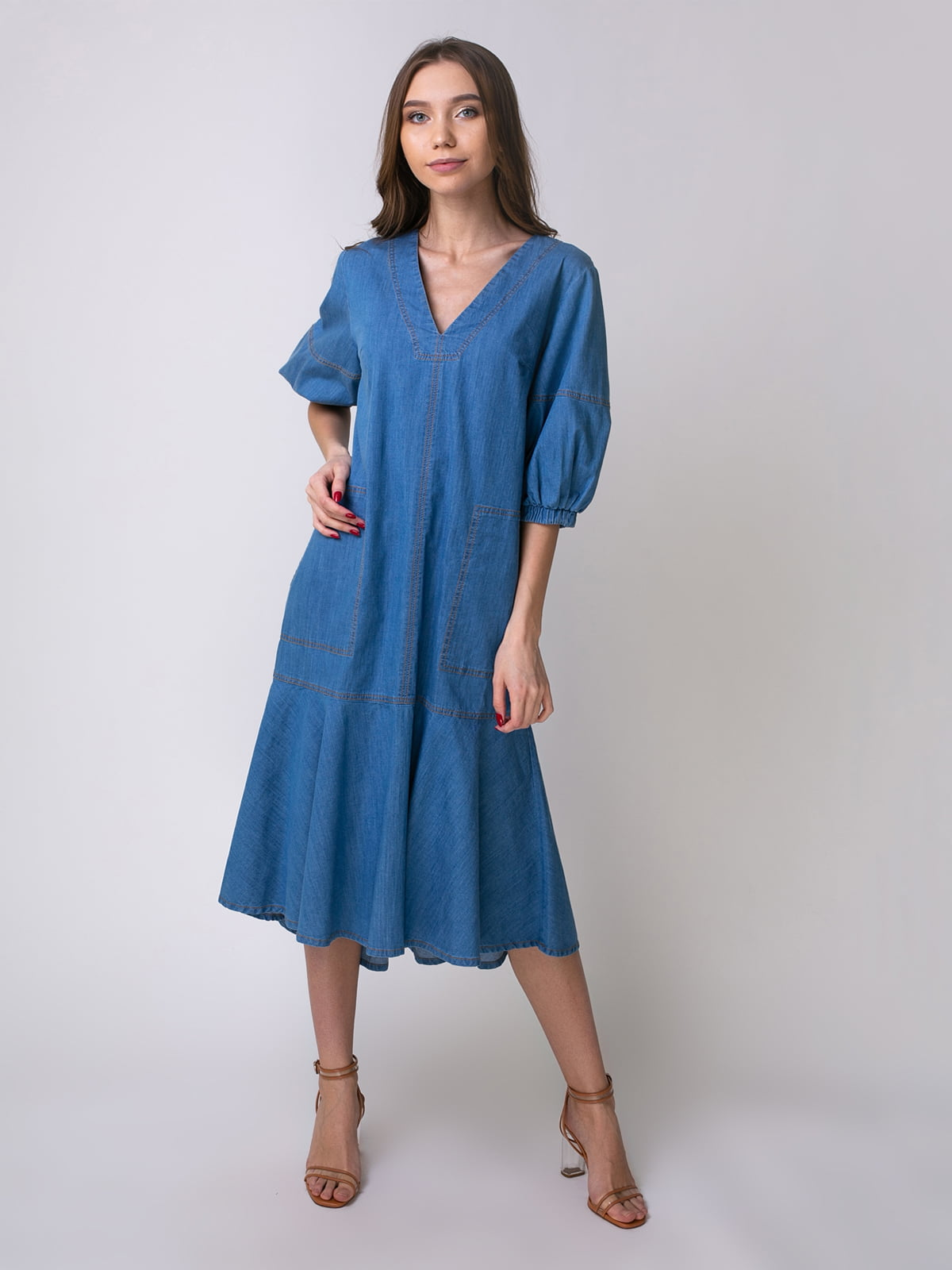 Сукня блакитна | 5347371