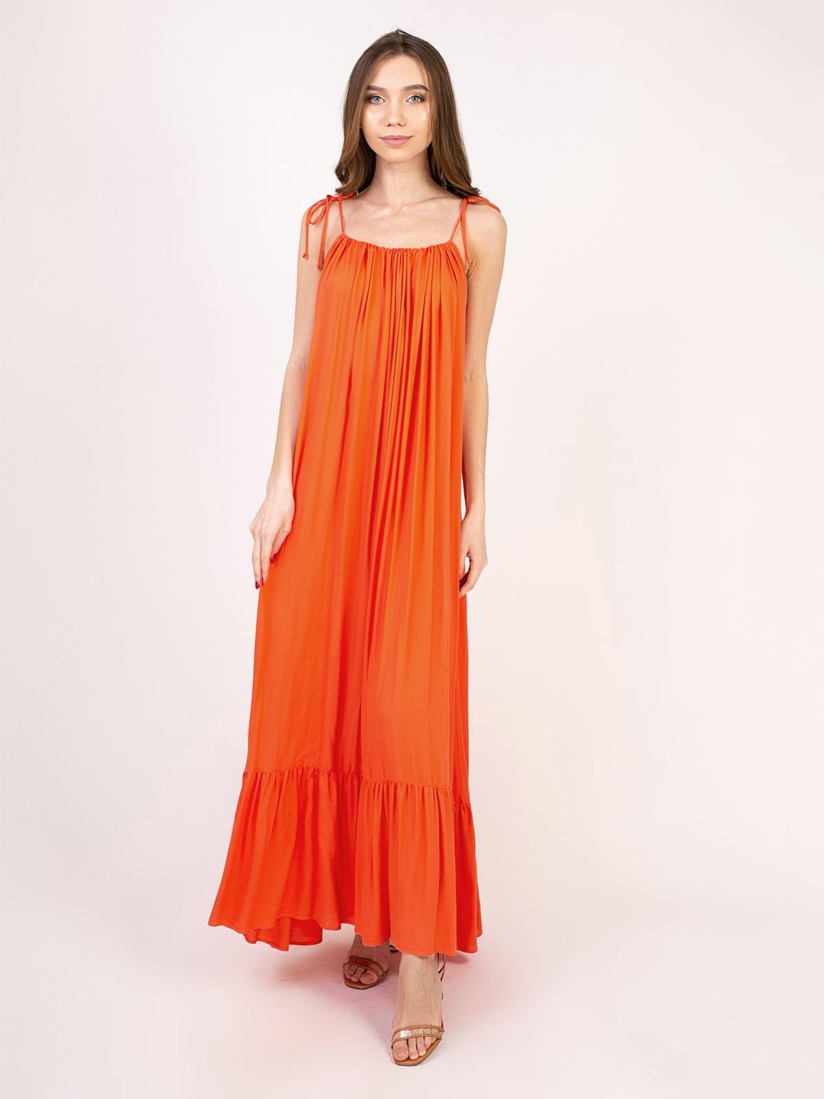 Сукня помаранчева | 5357156