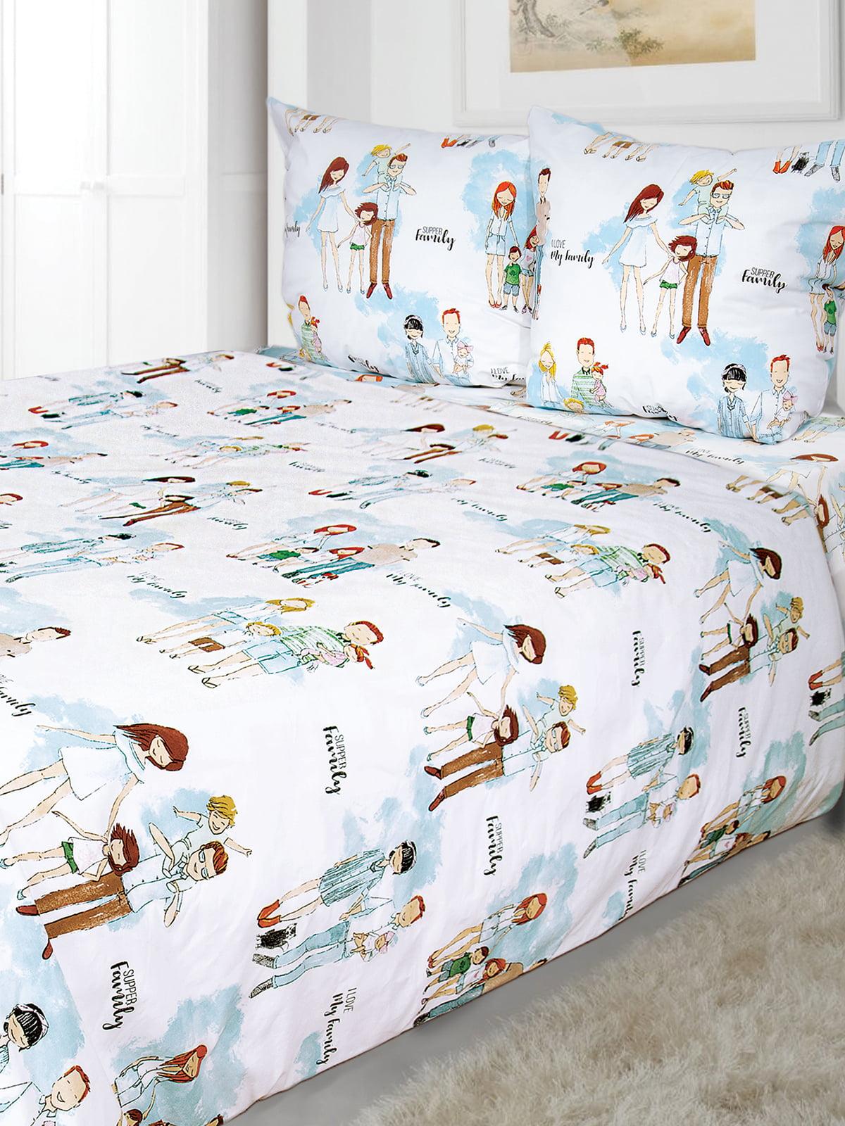Комплект постельного белья двуспальный | 5351480