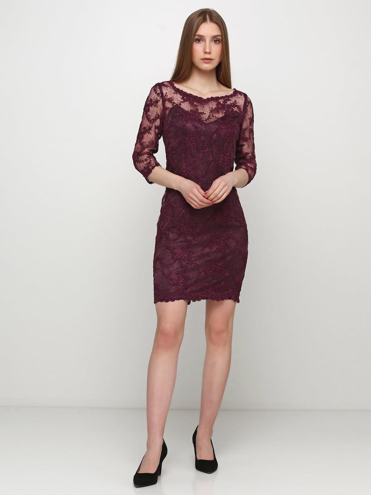 Платье фиолетовое | 5361676