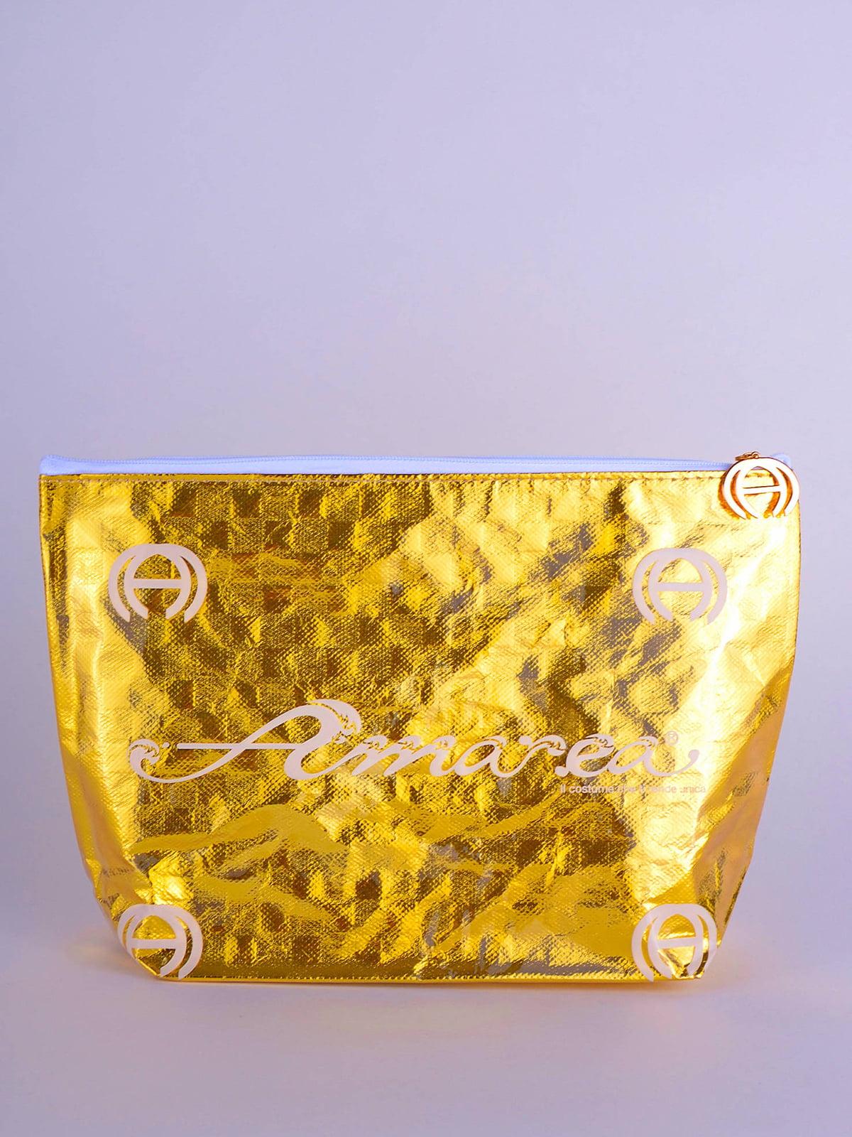 Косметичка золотиста | 5363067