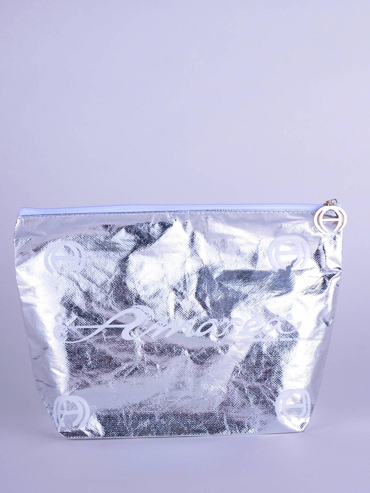 Косметичка серебристая | 5363069