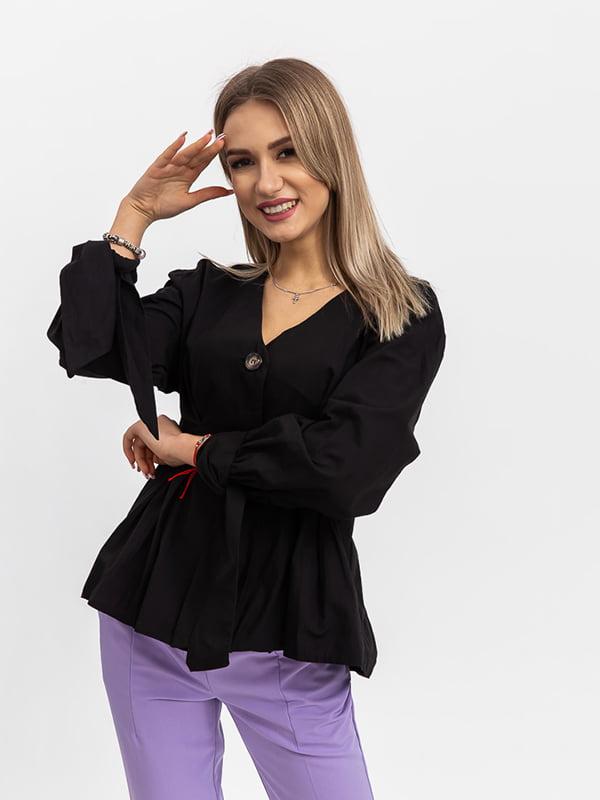 Блуза черная | 5364205