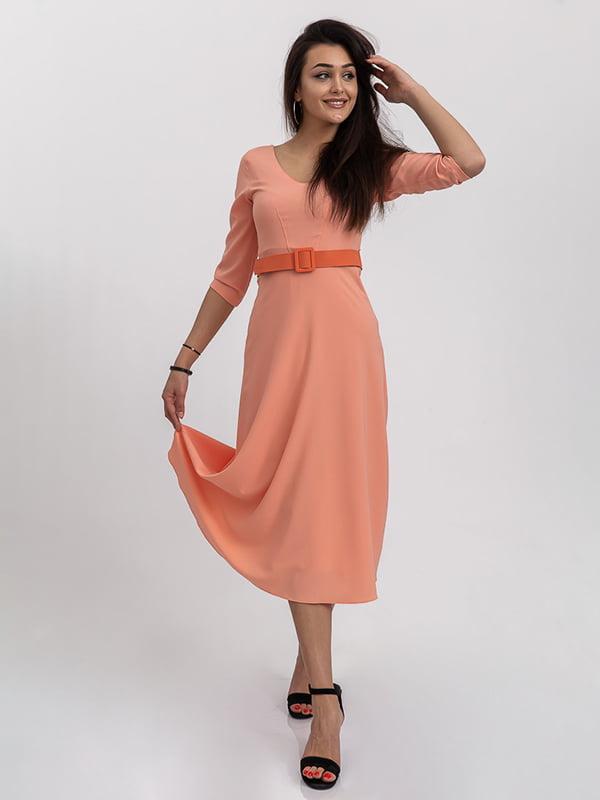 Платье персикового цвета | 5364368