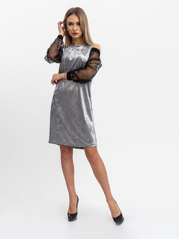 Платье серое   5364385