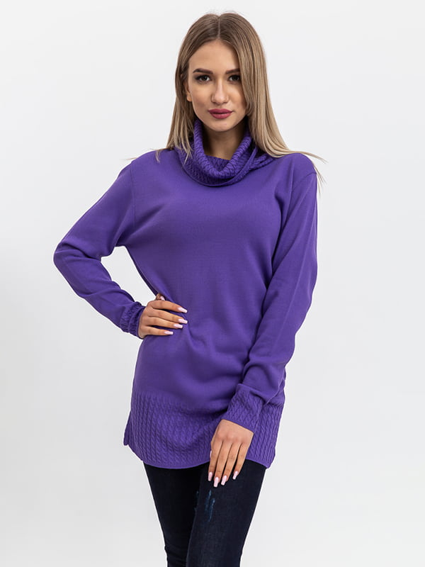 Свитер фиолетовый   5364403