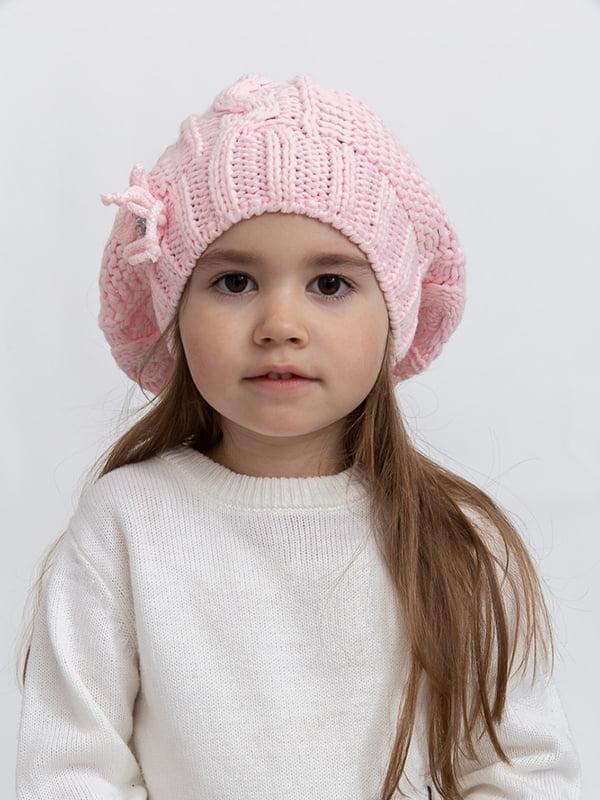Шапка розовая | 5364445