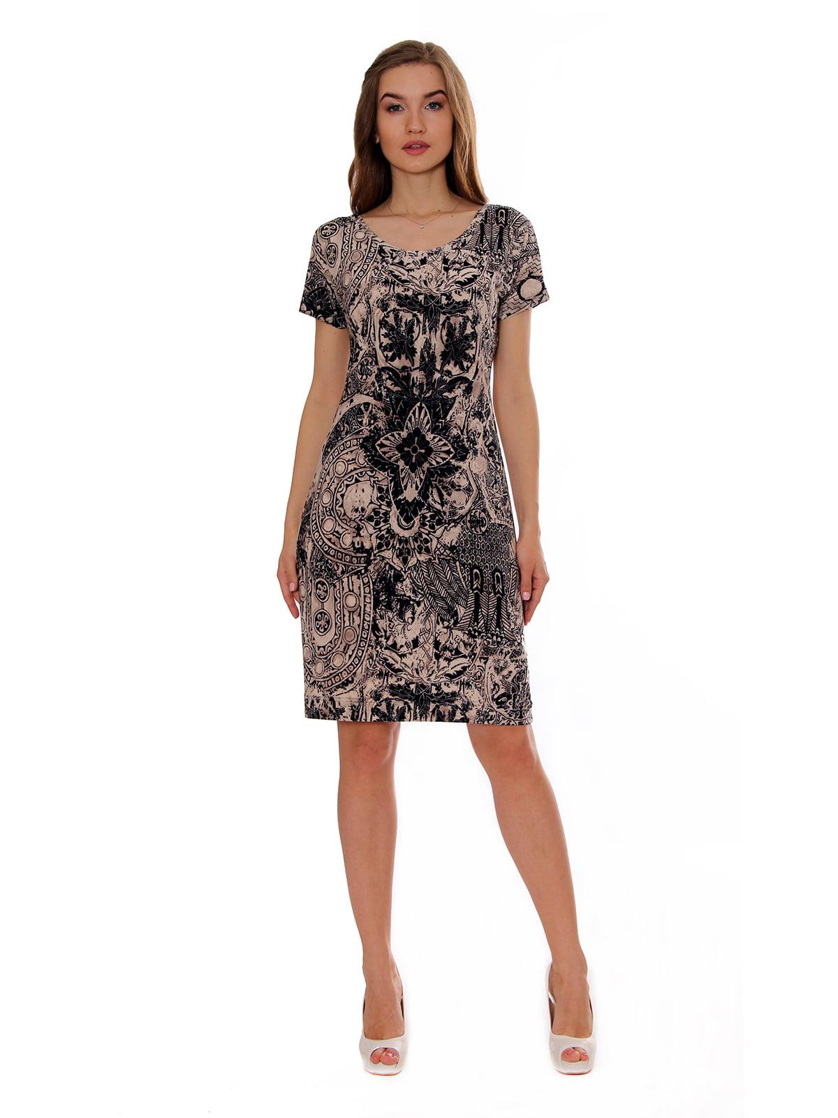 Платье в принт   5366402