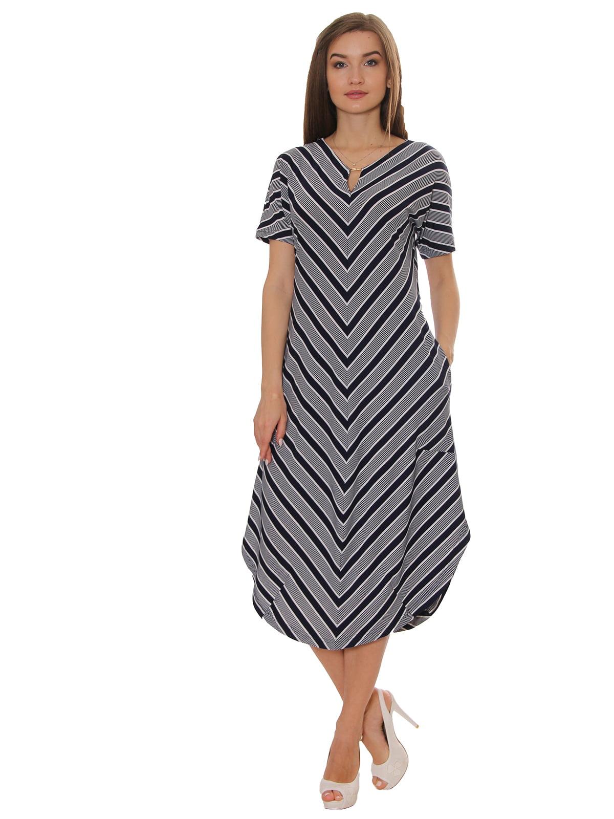 Платье в полоску | 5366446