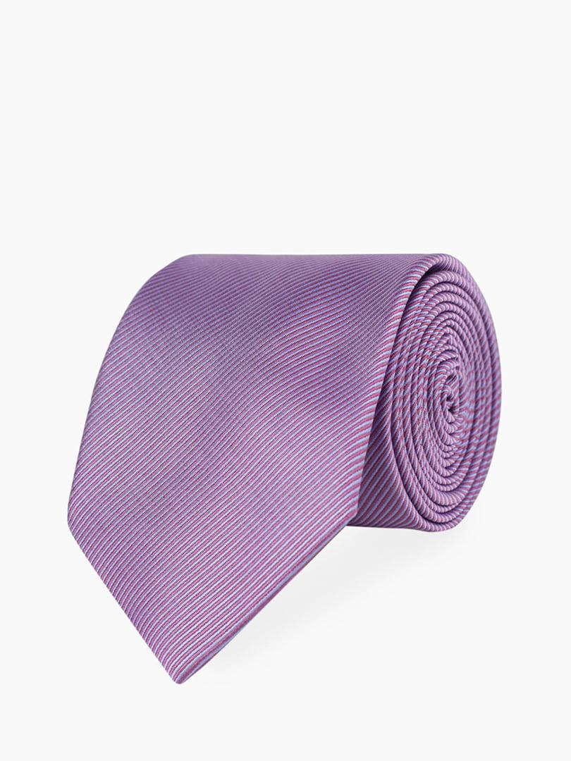 Галстук фиолетовый в полоску | 5310854